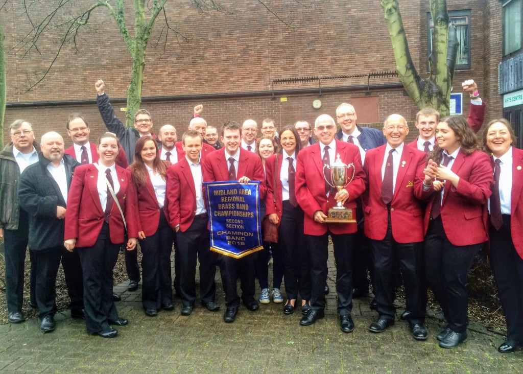 Carlton Brass - 2015 Midlands Area Second Section Champions