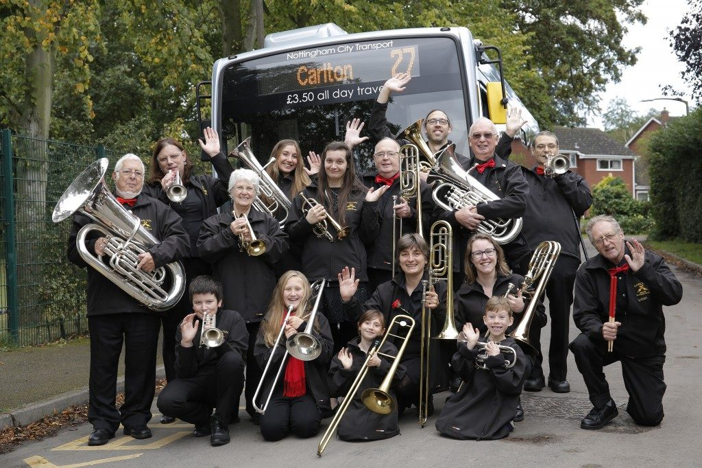 Supporting the brass band movement